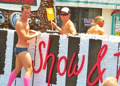 LAPride2 2014 485 (danimaniacs) Tags: shirtless man hot sexy guy losangeles underwear hunk parade gaypride speedo swimsuit westhollywood stud lycra csw lapride22014