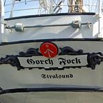 Segelschulschiff »Gorch Fock (1)« im Stralsunder Hafen vor Anker (9) thumbnail