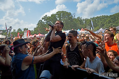 Spencer Charnas (Scenes of Madness Photography) Tags: music ice monster ink photography nikon energy tour post live stage nine july maryland columbia warped madness pavilion vans spencer kills scenes merriweather 2014 charnas d3200