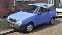 Lancia Y10 1.1 Mia (sjoerd.wijsman) Tags: auto blue holland cars netherlands car blauw y nederland thenetherlands denhaag voiture bleu vehicle holanda autos paysbas olanda lancia hatchback fahrzeug bluecar niederlande zuidholland y10 onk carspotting bluecars lcar carspot lanciay lanciay10 actiemodel sidecode5 lbnf08 znjn32