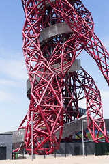 ArcelorMittal Orbit Tower-2 (silabob) Tags: light red abstract london art architecture pipes olympicpark stratfordcity ef70200mmf4lusm arcelormittalorbit