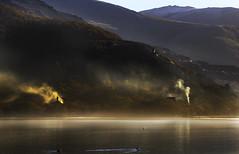 Morning Mist (Paul Sivyer) Tags: llanberis llynpadarn slatemuseum paulsivyer wildwalescom