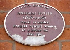 "City of Liverpool Heritage Plaque Josephine Butler • <a style=""font-size:0.8em;"" href=""http://www.flickr.com/photos/9840291@N03/14816646226/"" target=""_blank"">View on Flickr</a>"