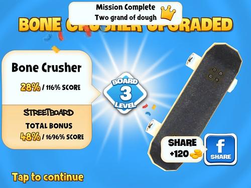 Skyline Skaters Upgrades: screenshots, UI
