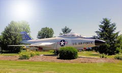 U.S. Air Force F101-B Voodoo 80281 Jet Fighter Static Display at Spirit of St. Louis Airport in Chesterfield, MO_P1290393-3 wb(2)cs (Wampa-One) Tags: fighter aircraft jet sunburst paintshoppro usaf voodoo usairforce corel mcdonnell stlouismo spiritofstlouisairport f101 staticdisplay gateguard chesterfieldmo corelpsp f101b mcdonnellf101voodoo stlouiscountymo 80281 580281