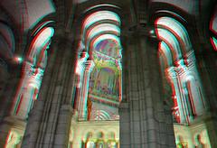 La Basilique Sacre Coeur Paris 3D (wim hoppenbrouwers) Tags: paris 3d anaglyph sacrecoeur stereo sacrecoeurparis redcyan labasiliquesacrecoeur
