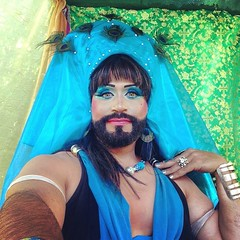 All is quiet in #MysticsWay! All the little sprigs seem to be well behaved. For the moment! #ChildrensWeekend #newyorkrenaissancefaire #nyrenfaire #nyrf #ladyc #ladychamaka #instaladychamaka #instalady #instadrag #dragqueen #beardedlady #instabeardedlady (Henry M. Diaz) Tags: square squareformat rise iphoneography instagramapp uploaded:by=instagram foursquare:venue=4b9a5009f964a5209dab35e3