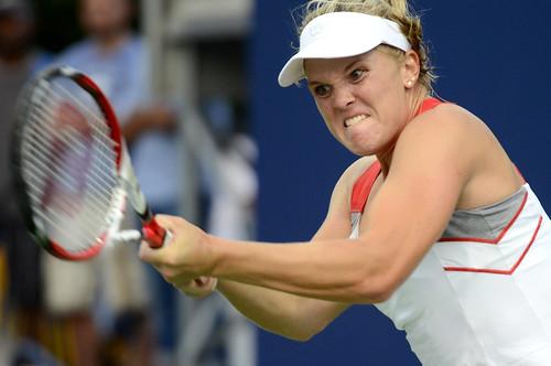 Melanie Oudin - 2014 US Open (Tennis) - Qualifying Rounds - Melanie Oudin