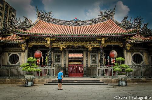 Entree van de Mengjia Longshan Tempel