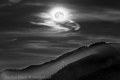 Dark and Mysterious... (Starlisa) Tags: summer nature oregon fire photography northwest pacificnorthwest wildfire rowena 2014 rowenacrest august9 moppingup photojourney starlisa starlisablackphotography darlisablack starlisanet starlisablackphotographycom rowenafire rowenafirepresupermoon1592