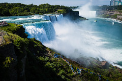 Niagara Falls From The Overlook (Better Than A Sharp Stick In The Eye) Tags: niagarafalls