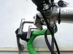 DIY decaleur (immu) Tags: orange bike bicycle diy stem faceplate thomson velo randonneur veloorange decaleur