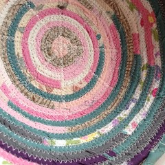 "It has been a very dreary Sunday here at 1840 Farm.  We haven't seen the sun all day, so I decided to stitch together a basket that includes a combination of cheery fabrics.   This is one of our patchwork baskets. They are made using the pieces of hand wr • <a style=""font-size:0.8em;"" href=""https://www.flickr.com/photos/54958436@N05/14947108271/"" target=""_blank"">View on Flickr</a>"