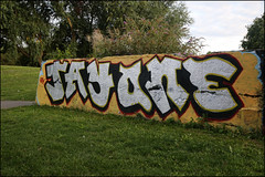 Jayone (Alex Ellison) Tags: urban graffiti jay boobs skatepark halloffame graff hof northlondon jayone markfieldpark southtottenham
