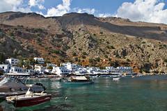 Loutro (nikman.) Tags: sea canon landscape eos boat sigma greece crete 7d loutro 18250mm nikman
