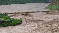 Extreme Flood in Poonch River at Gulpur Azad Kashmir 2014 (aazr_caa) Tags: river flood azhar kotli 2014 hussain poonch khuiratta gulpur azharhussain flood2014 azharhashmikhuiratta