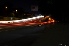 Kpr (dilara en) Tags: street longexposure bridge light motion cars night exposure uzunpozlama