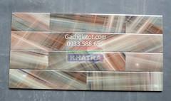Gạch ốp tường vân trúc xéo đậm (30x60)