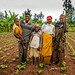 Burundi farming family by Isabel Corthier Caritas International Belgium