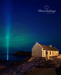Ballintoy Aurora (Hibernia Landscapes (sjwallace9)) Tags: ireland night stars landscape lights coast north