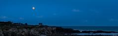 2014-08-10-Cote sauvage_FMO_3378 (Franck.Mo) Tags: mer lune nuit hdr couchdesoleil batzsurmer poselongue
