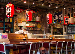 Sushi Bar (kevinleedrum) Tags: las vegas house fish bar sushi nikon nevada kings chef henderson d3200