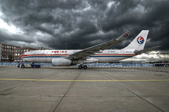 HDR / China Eastern Airlines Airbus A330-243 B-6537 (EK056) Tags: china airport frankfurt airbus airlines eastern hdr a330243 b6537