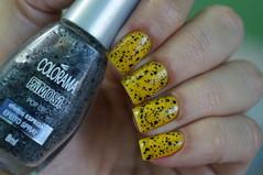 Amarelo Real - Risqu + Pop Up - Colorama (Roberta_Rezende) Tags: glitter amarelo risqu colorama posh desafioarcoris