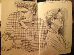 Matt and Lynne (paul heaston) Tags: brazil art notebook artwork drawing journal sketchbook urbansketching