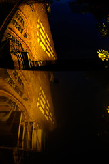 reflections (Manuel Eumann) Tags: 35mm lights evening abend fuji september schleswigholstein flensburg manueleumann fujixt1