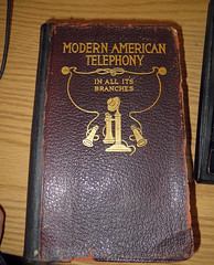 Modern American Telephony In All It's Branches book (benchilada) Tags: its modern book all branches american telephony in