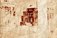 We never forget (bloodyandwhite) Tags: old red building rot abandoned sepia germany rouge deutschland weird scary europa europe factory furniture fabrik saxony atmosphere eerie faded abandon forgotten sachsen soul mysterious present lovely enter shape left past 2008 rood allemagne postproduction deserted duitsland verlassen einsam disappear kriebstein distanced slaved slavedsoul