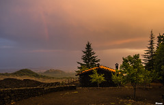 Evening on Etna (Rianetna) Tags: hut shelter etna rifugio