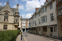 Merton Street, Oxford (lazy south's travels) Tags: oxford oxfordshire england britain uk street scene urban university history