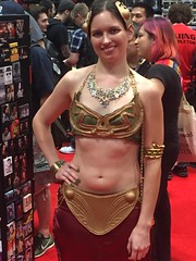 Abolitionist movement (Honky275) Tags: nycc leia slaveleia starwars