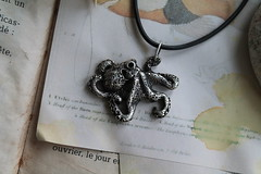 Octopus silver pendant Animal jewelry Handmade necklace Tentacle Art Earthy Nature talisman Ocean Totem Artisan sterling silver sea creature (Bearcat Studio Jewelry) Tags: octopus sterling silver pendant tentacle tentacles tentacleart necklace animal jewelry earthy art nature talisman totem artisan jewellery handmade sculpture miniature figurine original ethnic beauty boho style bohemian photography grunge mollusk cuttlefish squid kraken oxidized sea ocean shell cephalopod