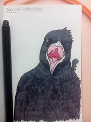 Day 10 of my sketch streak (# annola) Tags: disegno dessin zeichnen sketch doodle pennarello feutre feltpen