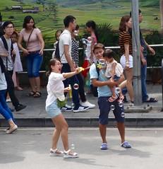 Bubble time! (program monkey) Tags: mom happybaby bubbles oldquarter vietnam hanoi