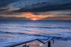 Brighton Sunset (jrazarcon) Tags: hove southaustralia australia au nikond810 sigma 35mm f14 dg hsm arts john azarcon jrazarcon landscape subaru forrester hill rocks sa adelaide outdoor lightroom sea sunset wave froth walkways brighton d810