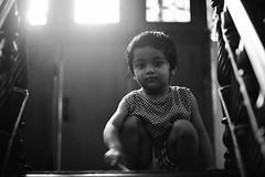 Somebody was waiting (N A Y E E M) Tags: umar kalam son staircase wood ramadan afternoon light 1stfloor home rabiarahmanlane chittagong bangladesh availablelight indoors naturallight bokeh lulu