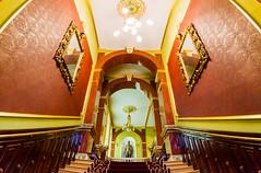 Staircase (Raoul Pop) Tags: staircase hallway architecture interior statue structure historic iasi moldova romania ro