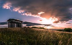 'Monument'al Sunset (Tony Emery Fotos) Tags: penshaw monument sunderland north east sunset sunrise durham grass light warm summer