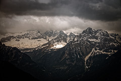 Strongly (Explore) (pure photography!) Tags: berge mountains landschaft landscape sky herbst autumn dolomiten dolomiti marmolada italia italien italy schnee snow gletscher glacier clouds
