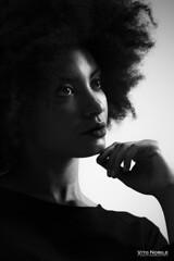 modella (vito.nobile) Tags: modella girl girls studio luci nero bw bn volto face