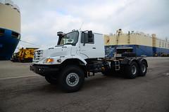 Mercedes Zetros 2743 DST_9755 (larry_antwerp) Tags: truck mercedes zetros 2743 antwerp antwerpen       port        belgium belgi
