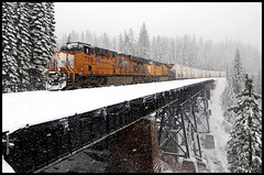 UP 7710 (golden_state_rails) Tags: up union pacific donner pass sp southern espee troy ca california sierra nevada zdlskp salad shooter snow cement