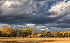 Herbststurm am Niederrhein II (moni-h) Tags: agrarlandschaft deutschland eos760d germany herbststurm kevelaer landscape landschaft nrw niederrhein november2016 sturm wolken rural nordrheinwestfalen de