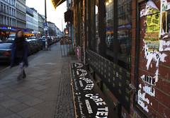 Oranienstrasse, Kreuzberg, Berlin (lady_barbona) Tags: kreuzberg berlin coretex records shop oranienstrasse urban street punk metal hardcore