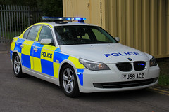 Humberside Police BMW 530d Saloon Roads Policing Unit Traffic Car (PFB-999) Tags: humberside police bmw 530d 5series saloon roads policing unit rpu traffic car vehicle lightbar grilles fendoffs leds yj58acz kc stadium hull