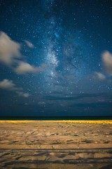 Milky Way from Grayton Beach (csuper) Tags: ifttt 500px milky way stars night sky clouds long exposure water sea beach blue ocean travel seascape sand florida grayton gulf coast